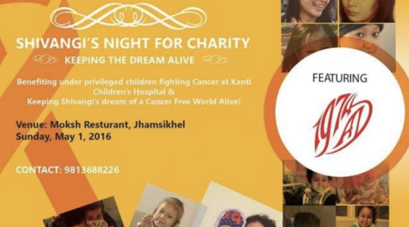 Shivangi's Night For Charity